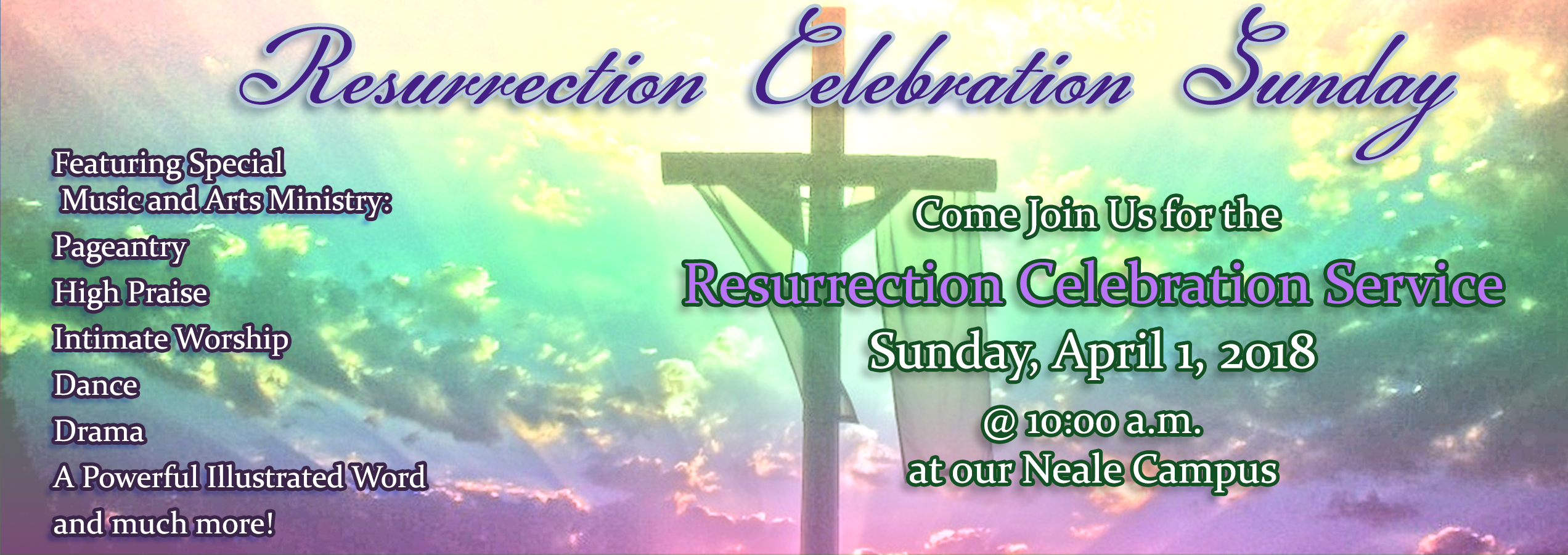 EasterService2018