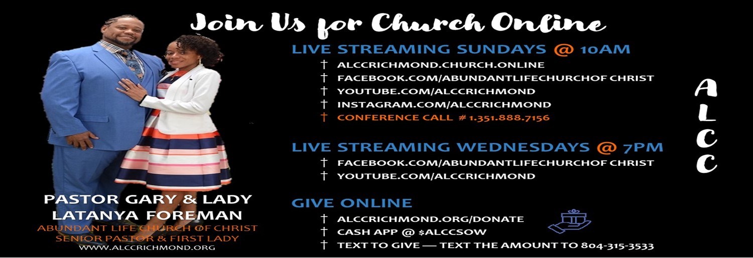 CHURCH ONLINE - WATCH OUR LIVE STREAM V3 WEB